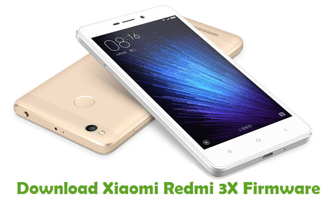 Download Xiaomi Redmi 3X Stock ROM
