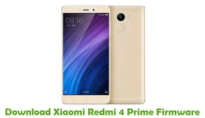 Download Xiaomi Redmi 4 Prime Firmware
