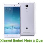 Xiaomi Redmi Note 3 Qual Firmware