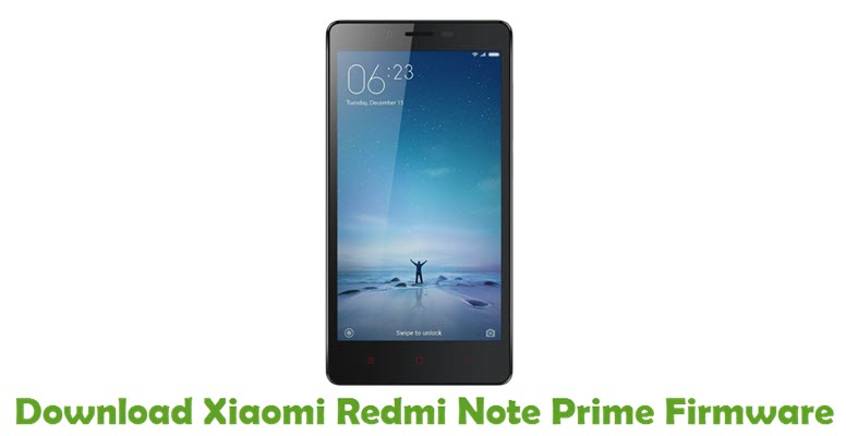 Download Xiaomi Redmi Note Prime Firmware