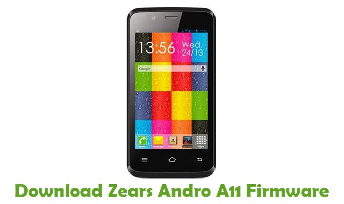 Download Zears Andro A11 Stock ROM