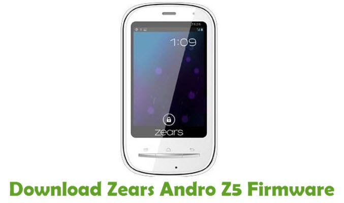 Download Zears Andro Z5 Firmware