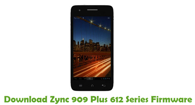 Download Zync 909 Plus 612 Series Firmware