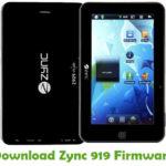 Zync 919 Firmware