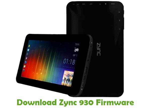 Download Zync 930 Firmware