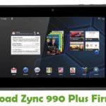 Zync 990 Plus Firmware