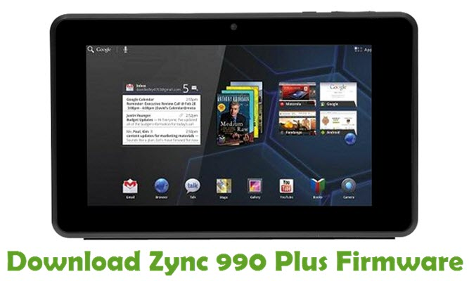 Download Zync 990 Plus Firmware