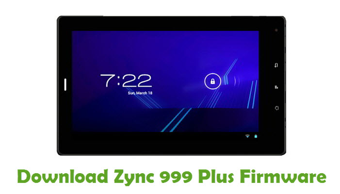 Download Zync 999 Plus Firmware