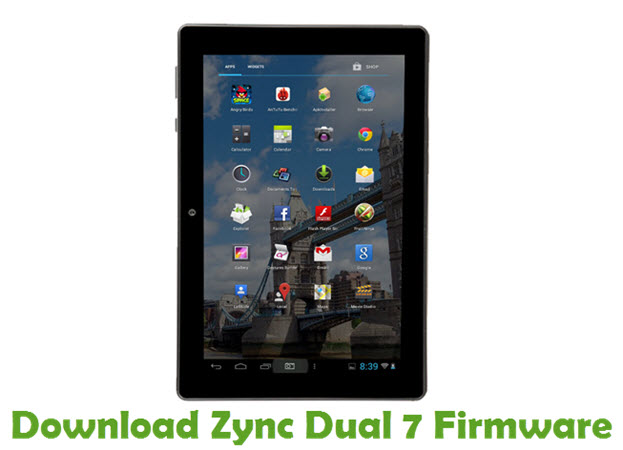 Download Zync Dual 7 Firmware
