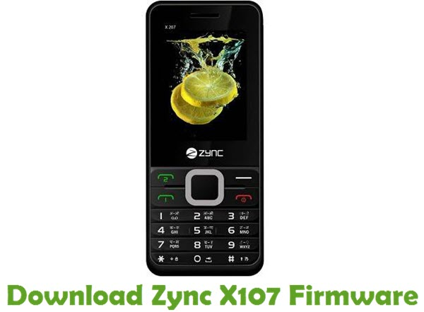 Download Zync X107 Firmware