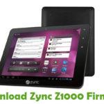 Zync Z1000 Firmware