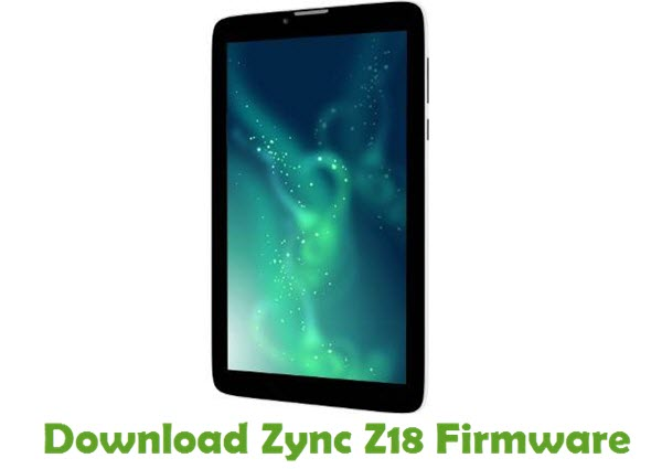 Download Zync Z18 Stock ROM