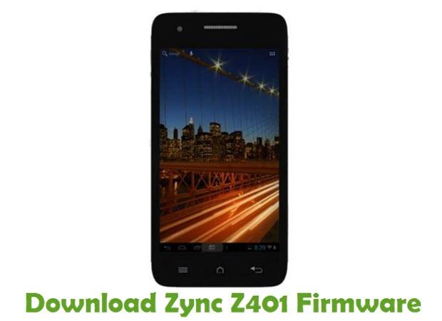 Download Zync Z401 Firmware
