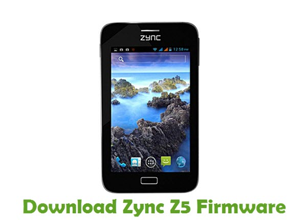 Download Zync Z5 Stock ROM