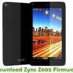 Zync Z605 Firmware