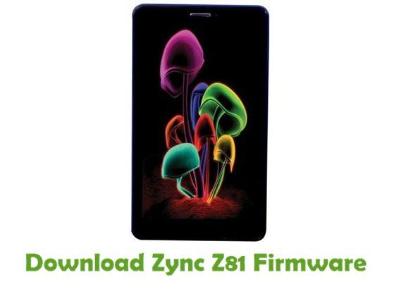 Download Zync Z81 Stock ROM