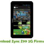 Zync Z99 2G Firmware