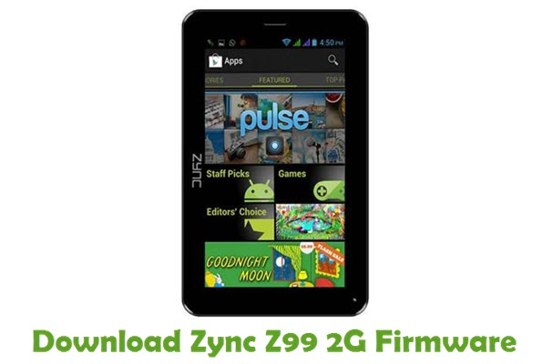 Download Zync Z99 2G Firmware