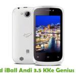 iBall Andi 3.5 KKe Genius Firmware