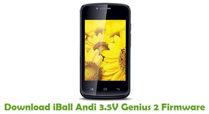 Download iBall Andi 3.5V Genius 2 Firmware