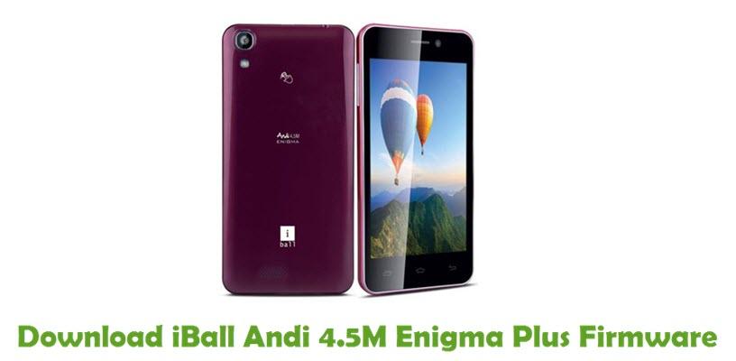 Download iBall Andi 4.5M Enigma Plus Firmware