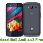 iBall Andi 4.5Z Firmware