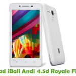 iBall Andi 4.5d Royale Firmware