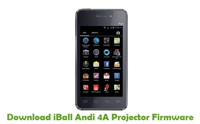 Download iBall Andi 4A Projector Stock ROM
