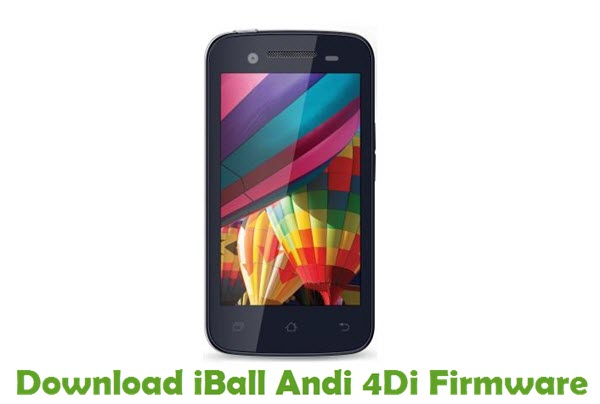 Download iBall Andi 4Di Stock ROM