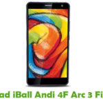 iBall Andi 4F Arc 3 Firmware