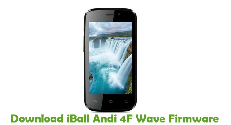 Download iBall Andi 4F Wave Firmware