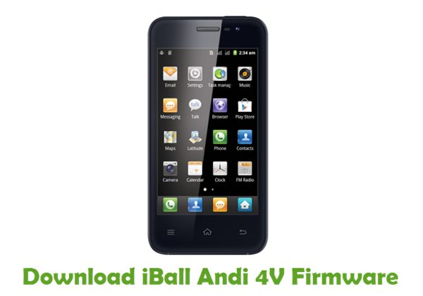 Download iBall Andi 4V Firmware