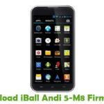 iBall Andi 5-M8 Firmware