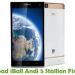 iBall Andi 5 Stallion Firmware