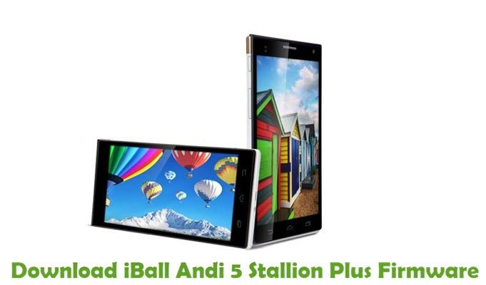 Download iBall Andi 5 Stallion Plus Firmware