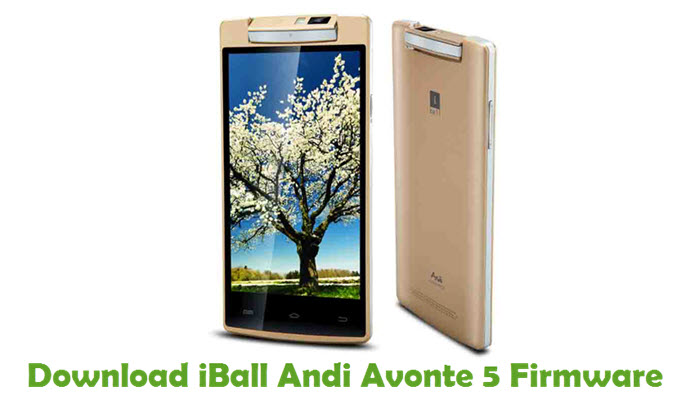 Download iBall Andi Avonte 5 Stock ROM