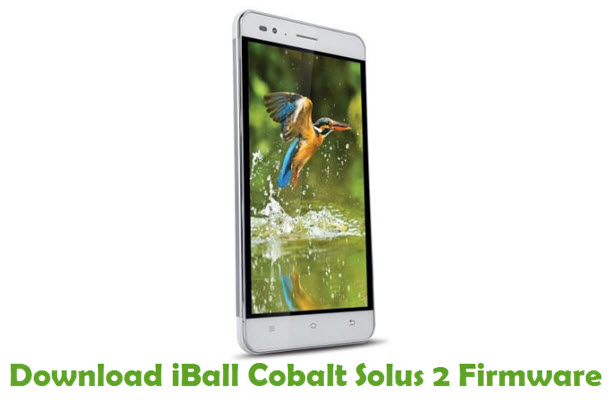 Download iBall Cobalt Solus 2 Stock ROM