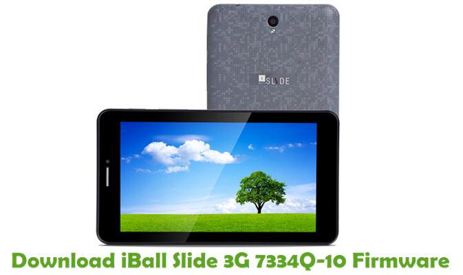 Download iBall Slide 3G 7334Q-10 Stock ROM