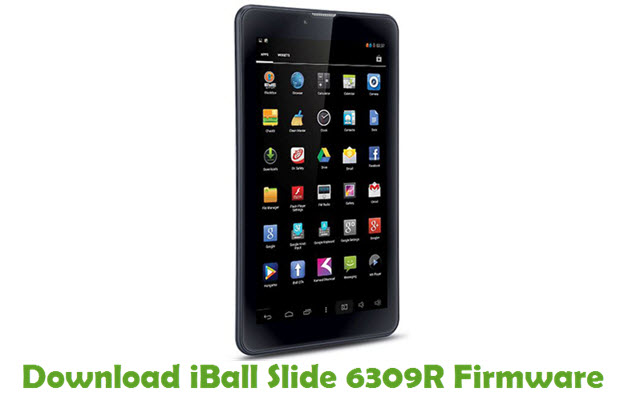 Download iBall Slide 6309R Stock ROM