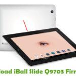 iBall Slide Q9703 Firmware