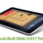 iBall Slide i1017 Firmware