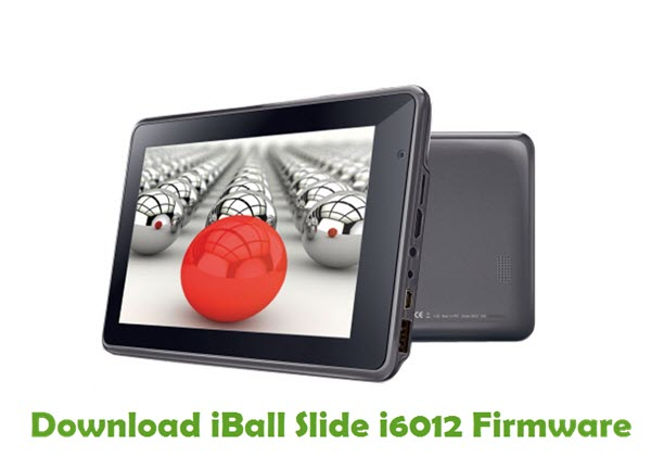 Download iBall Slide i6012 Firmware