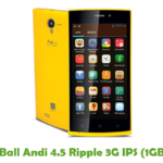 iBall Andi 4.5 Ripple 3G IPS (1GB) Firmware