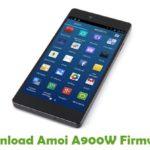 Amoi A900W Firmware