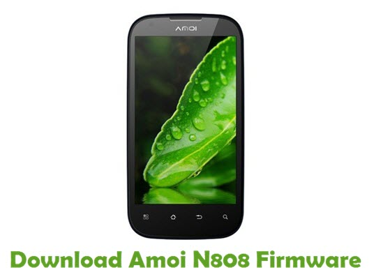 Download Amoi N808 Firmware