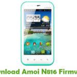 Amoi N816 Firmware