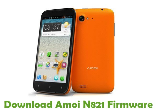 Download Amoi N821 Firmware