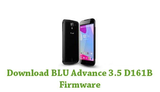 Download BLU Advance 3.5 D161B Firmware