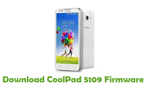 Download CoolPad 5109 Firmware
