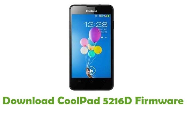 Download CoolPad 5216D Firmware